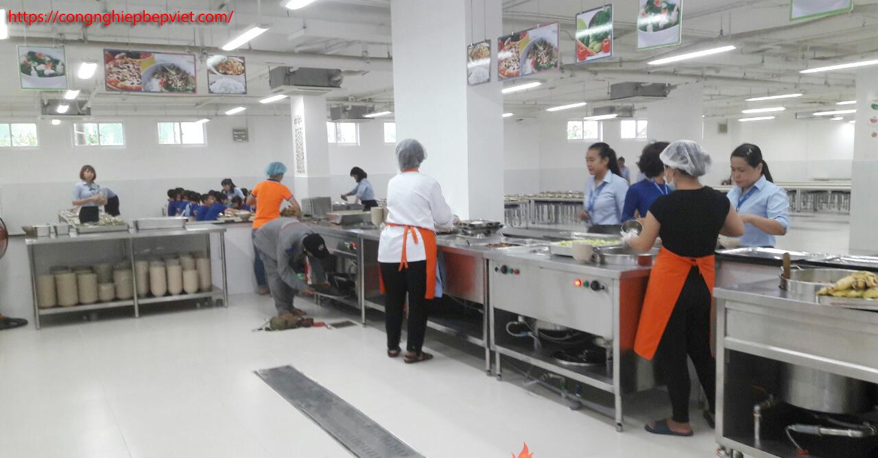 Bếp Việt tư vấn thiết kế quầy giữ nóng thức ăn cho khu bếp, căn tin chi công ty, nhà máy